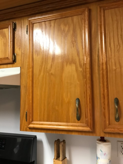 stain or paint for kitchen cabinets