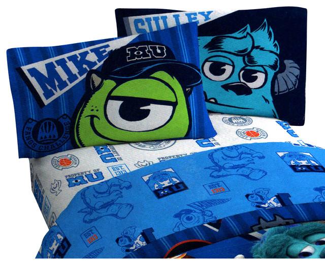 Disney Monsters Inc Scare 3 Pieces Twin Bed Sheet Set. Monster Inc Bedroom Set   Best Bedroom 2017