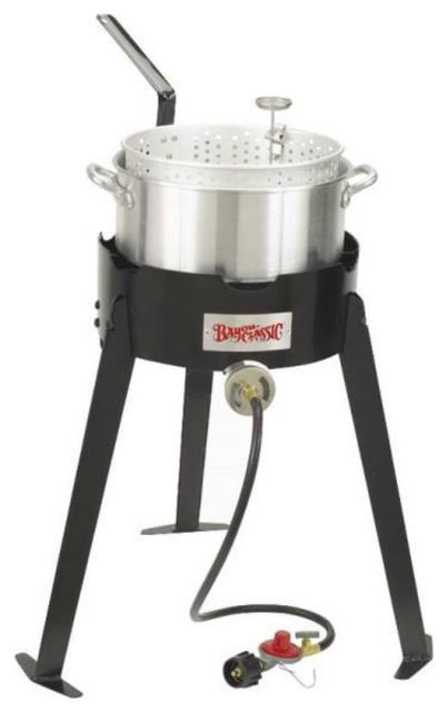 Bayou Classic Bayou Classic Aluminum Deep Fryer Cooking