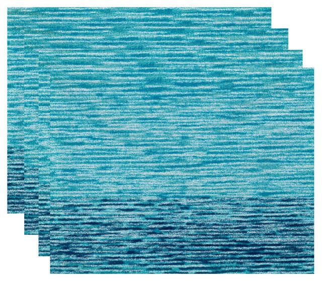 18 Quot X14 Quot Ocean View Geometric Print Placemat Set Of 4