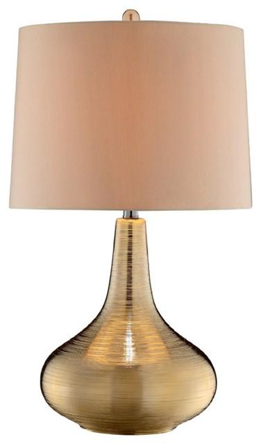 Mizar 1 Light Table Lamp Metallic Gold Transitional  : transitional table lamps from www.houzz.com size 376 x 640 jpeg 27kB