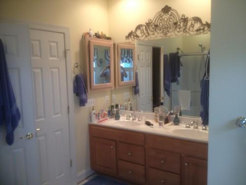 Before After Bathroom Renovation In Alexandria Va