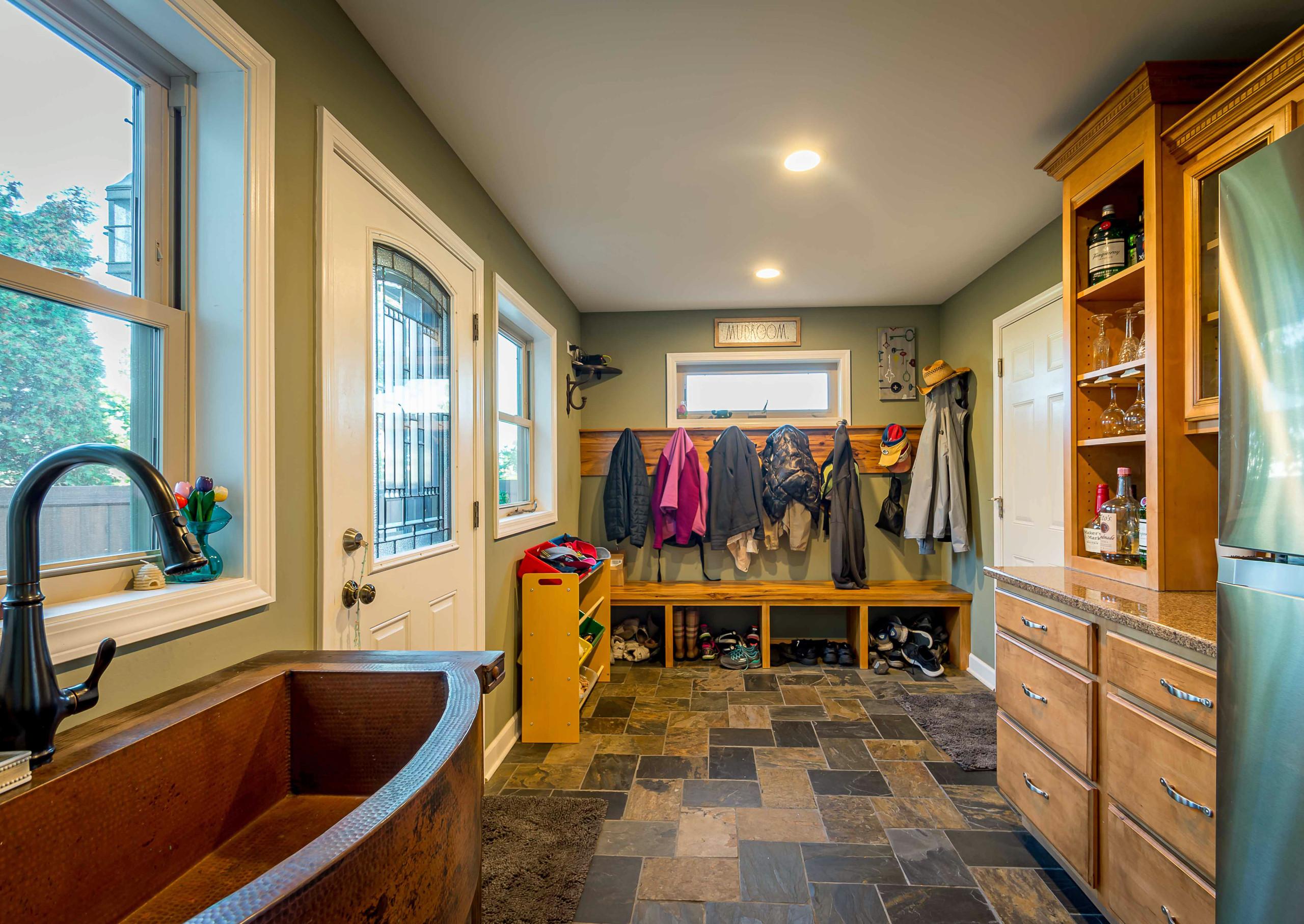 Mudroom & Interior Reorganization