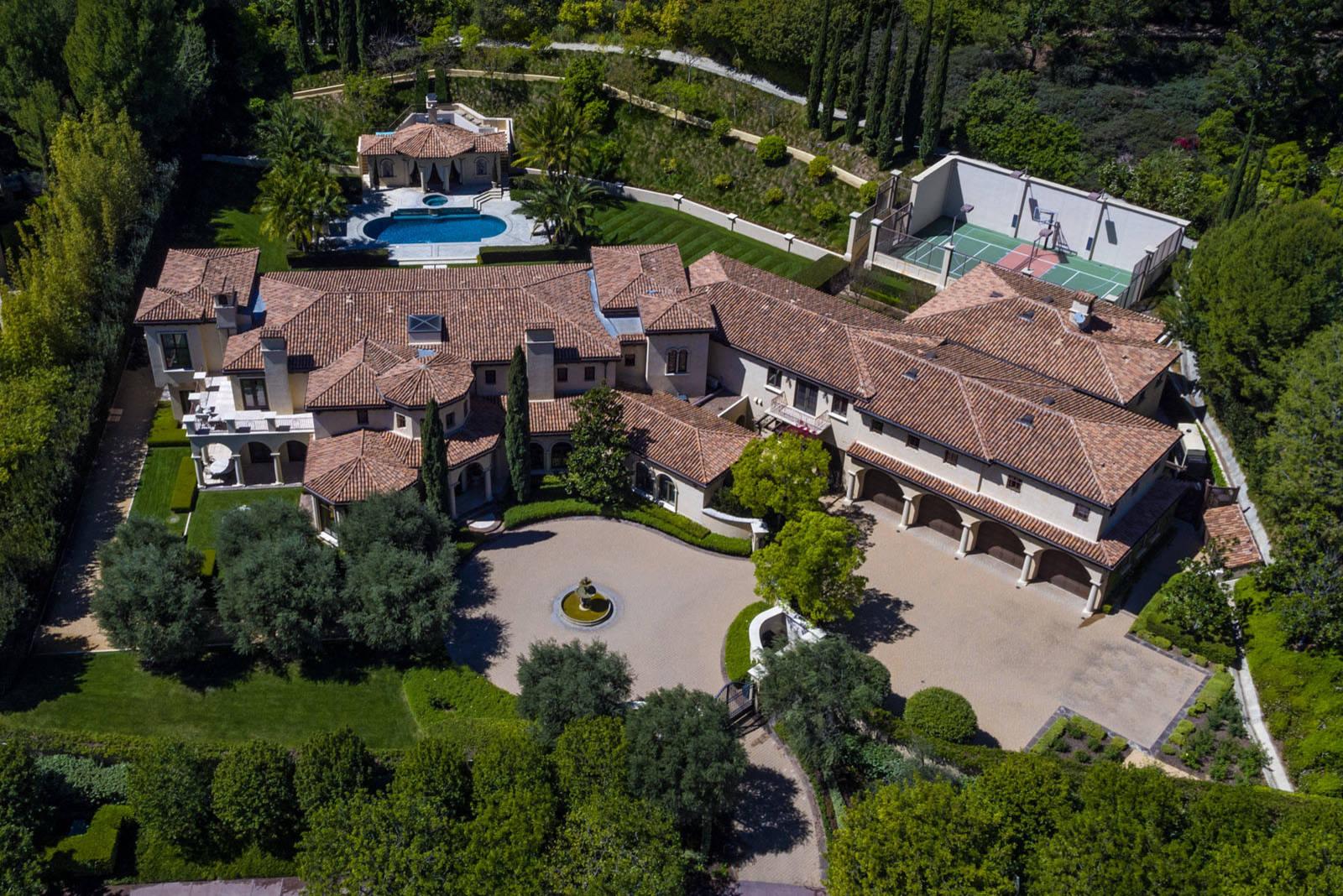 Beverly Hills:  Tuscan Estate