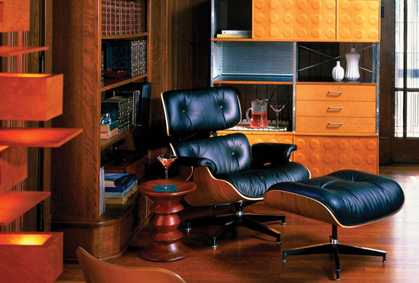 Incroyable Eames Style Lounge Chair And Ottoman By Rove Concepts Midcentury Living Room