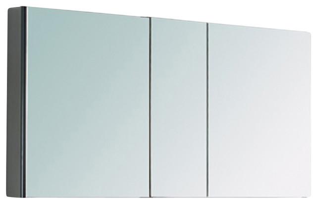 Fresca 3-Mirrored Medicine Cabinet.
