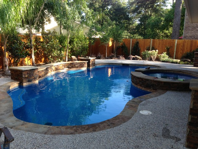Greater Houston Area Projects Peak Pools And Spas