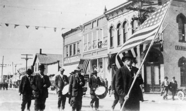 """Lexington Nebraska Grand Army of the Republic Parade"