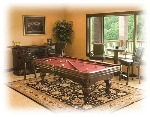 Exceptionnel What Is The Size Of The Rug Under The Pool Table   Love It!