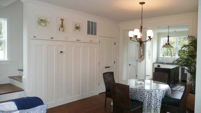 wainscot detail for a small dining room - traditional - dining room