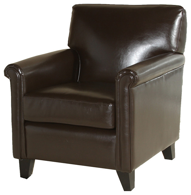 Bristol Leather Club Chair.
