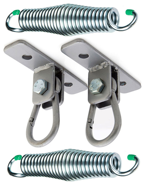 Snap Hook Hangers And Springs Porch Swing Hanging Kit