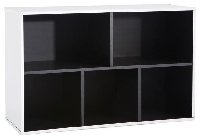 Grafit Shelving Unit, 5 Shelves