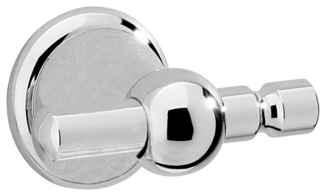 Sintra Double Hook, Satin Nickel.
