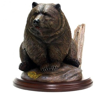 Grizzly By Tim Wolfe Sculpture Rustic Decorative