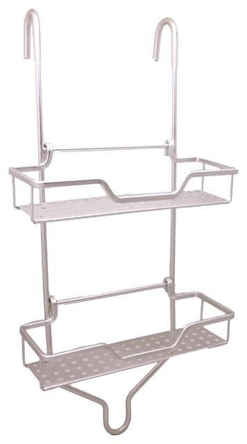 Reversible Aluminum Shower Caddy - Contemporary - Shower Caddies ...