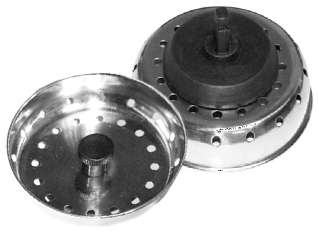 3 Quot Sink Strainer With 2 1 2 Quot Stopper Kitchen Fixture