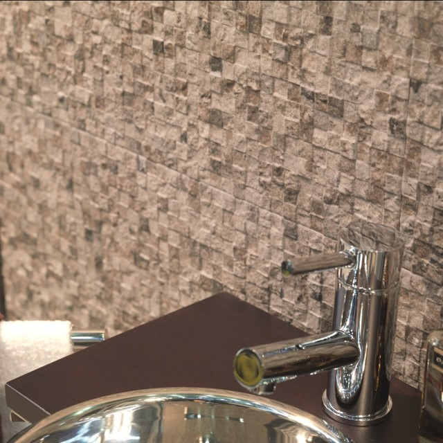 Bathroom Tiles Toronto toronto glossy patterned wall tiles in marron brown - direct tile