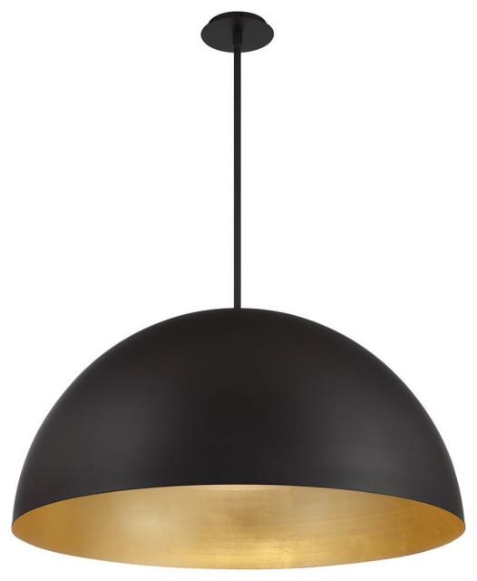 Yolo Led Pendant 3000k Gold Leaf Modern Pendant Lighting By Modern Forms Houzz
