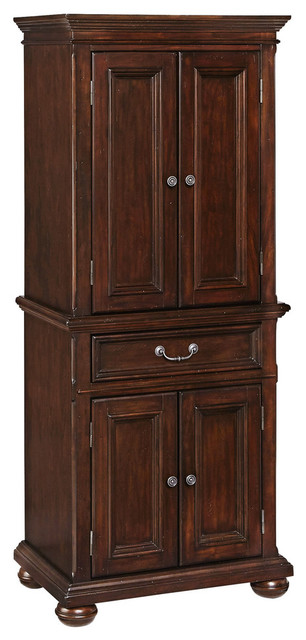 Colonial Pantry Traditional Pantry Cabinets By Home
