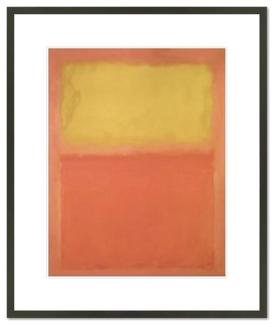 Orange And Yellow, 1956.