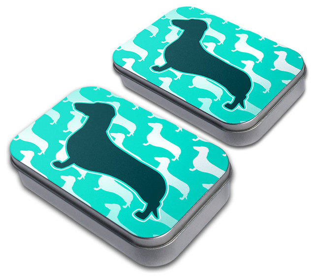 Made On Terra Dachshunds Galore Tin Set Amp Reviews Houzz