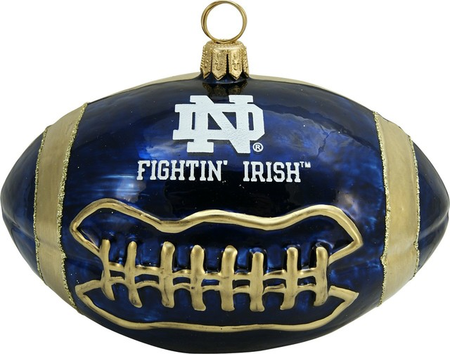 Collegiate Football University of Notre Dame Ornament ...