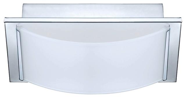 Wasao 1-Light Bathroom Vanity Light, Chrome - Contemporary - Bathroom Vanity Lighting - by ...