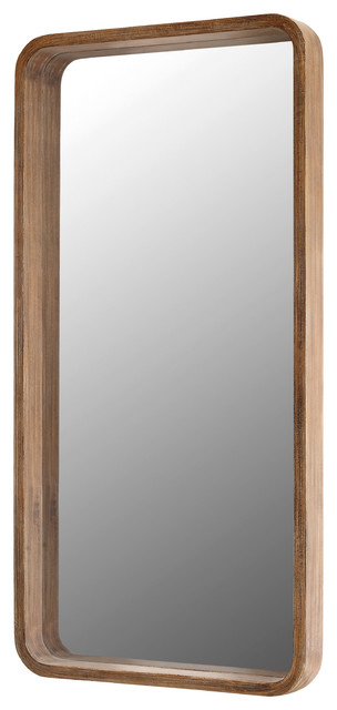 "30.3""x60"" Traditional Naturals Wall Mirror. -1"