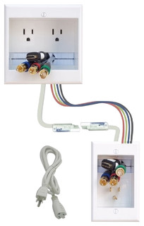 Diy Pre Wired Dual Receptacle Recessed Power Cable