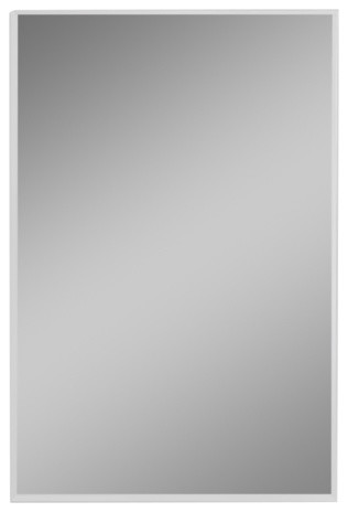 "R3 Series 24""x36"" Medicine Cabinet, Flat Door, Beveled Edge Mirrored Door."