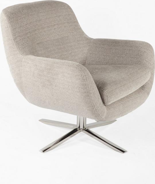 Taliaferro Lounge Chair, Brown