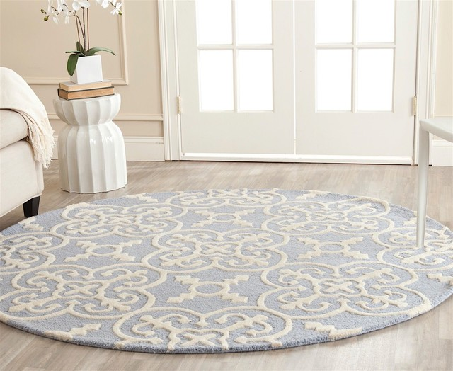 Transitional Cambridge Area Rug Contemporary Hall And Stair Runners By Rugpal
