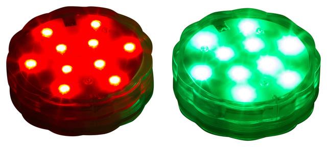 lights golf disc