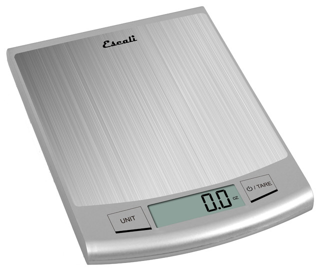 Escali Passo High Capacity Digital Scale Modern Kitchen Scales By Escali
