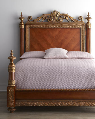 bellissimo bed, king - traditional - beds -horchow