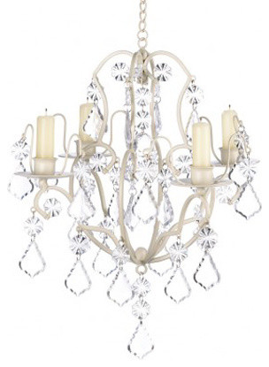 Ivory baroque chandelier mediterranean chandeliers by koolekoo ivory baroque chandelier aloadofball Image collections