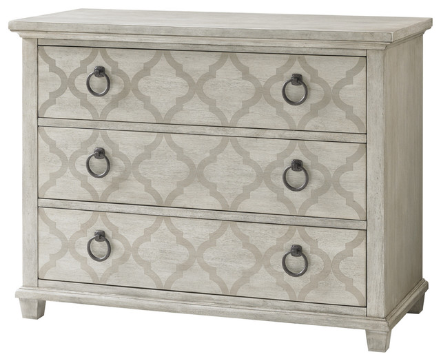 Lexington Oyster Bay Brookhaven Hall Chest, Light Oyster Shell.