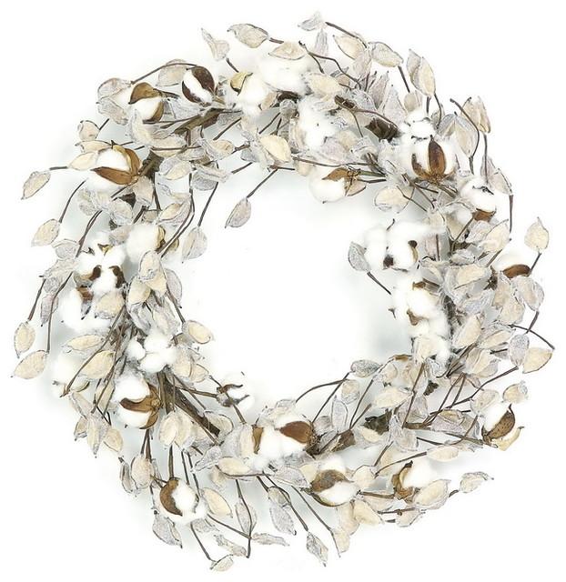 Cotton Pod Wreath, 22.