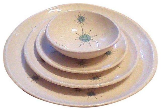 Franciscan Atomic Starburst Dinnerware Set - $800 Est. Retail - $600 on Chairish  sc 1 st  Houzz & Franciscan Atomic Starburst Dinnerware Set - $800 Est. Retail - $600 ...