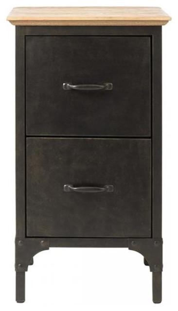 Shop Houzz | Homer Ambrose File Cabinet - Filing Cabinets