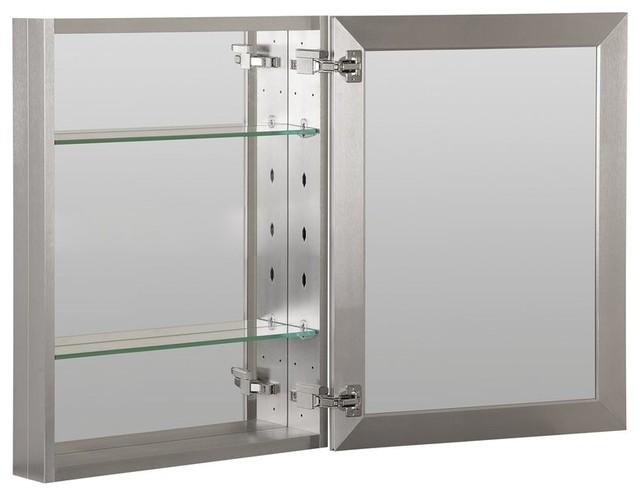 Surface Mount Single Door Medicine Cabinet.