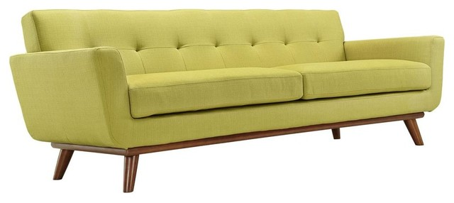 Upholstered Sofa, Wheatgrass.