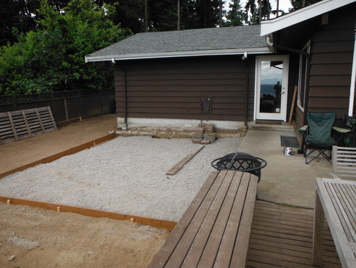 Need To Design Transition From Upper Sidewalk Deck To