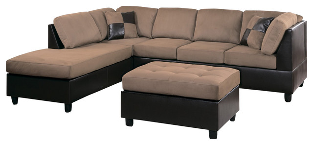 9909BR Homelegance Comfort Living 2 Piece Two Tone Living Room Set Living  Part 23