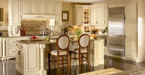 off white kitchen with black appliances. off white kitchen with black appliances