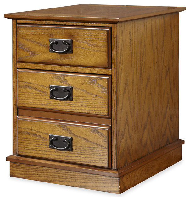 Modern Craftsman Mobile File - Transitional - Filing Cabinets - by Home Styles Furniture