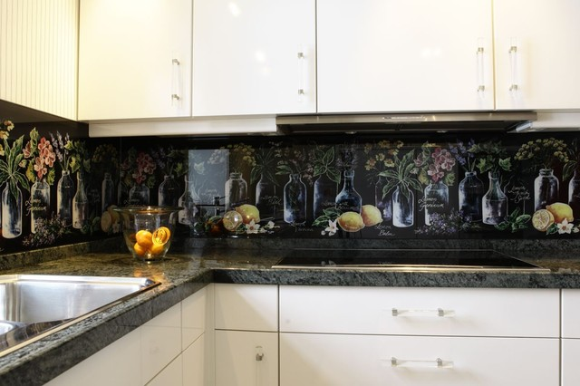 Glass Backsplash Modern Tile