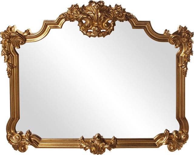 Howard Elliott Avondale Bright Gold Mirror