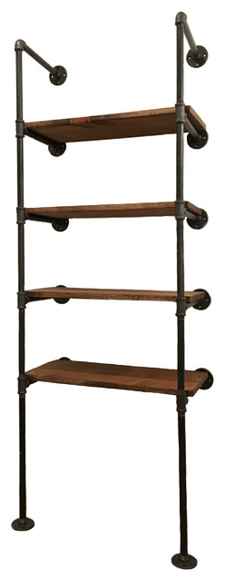 Brooklyn II - Industrial Wall Shelf Unit